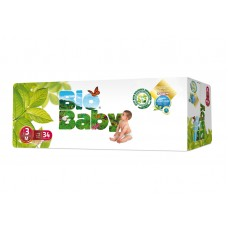 Bio Baby Eco Disposable Nappy Size 3: 7-10kg 34's