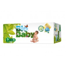 Bio Baby Eco Disposable Nappy Size 4: 9-13kg 34's