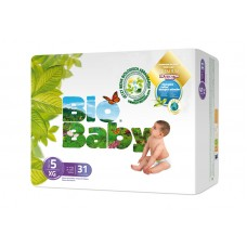 Bio Baby Eco Disposable Nappy Size 5: 12-16kg 31's