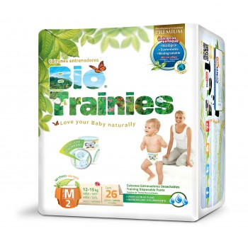 Bio Baby Eco Disposable Nappy Trainers 12-15kg 26's