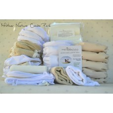 Full-Time Pack: Combo (All-In-Three & Rainbow Nature Nappy)
