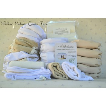 Full-Time Pack: Combo (All-In-Three & Nature Nappy)