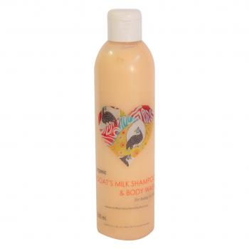 Organic Goat's Milk Shampoo & Body Wash 250mls