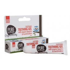 Soothing Teething Gel (Pure Beginnings) with organic liquorice & marshmallow (15ml)