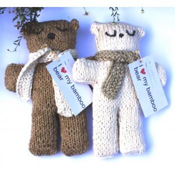 Bamboo Bear 100% natural toy
