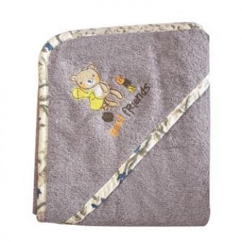 Hooded Bath Towel for Baby 100% Cotton